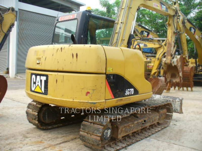 CATERPILLAR TRACK EXCAVATORS 307D equipment  photo 5