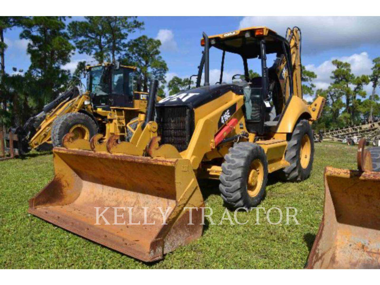 Detail photo of 2009 Caterpillar 416E from Construction Equipment Guide