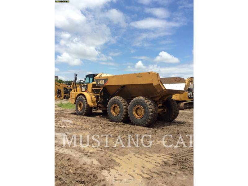 CATERPILLAR CAMIONES ARTICULADOS 740B equipment  photo 9