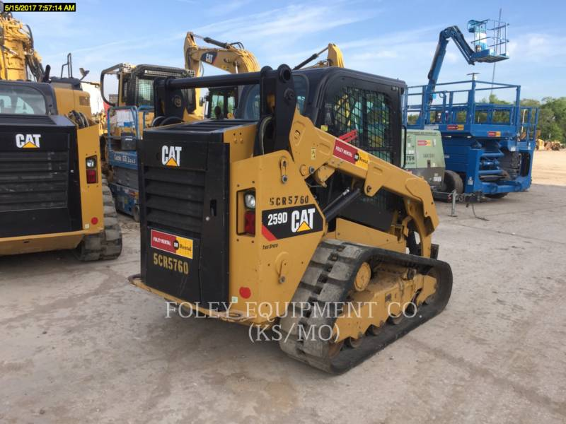 CATERPILLAR MINICARGADORAS 259DSTD2CA equipment  photo 4