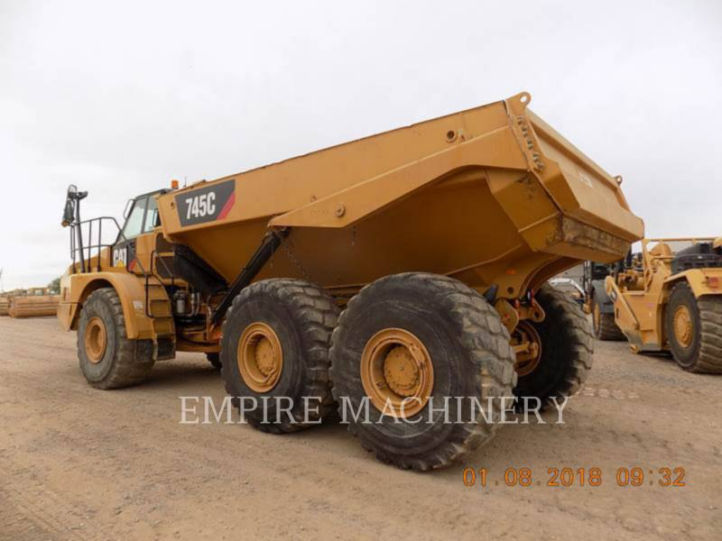 CATERPILLAR DUMPER ARTICOLATI 745C equipment  photo 3