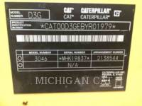 CATERPILLAR TRACTORES DE CADENAS D3GLGP equipment  photo 8