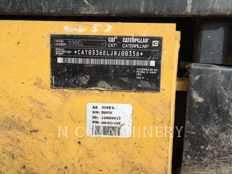CATERPILLAR PELLES SUR CHAINES 336E L equipment  photo 13