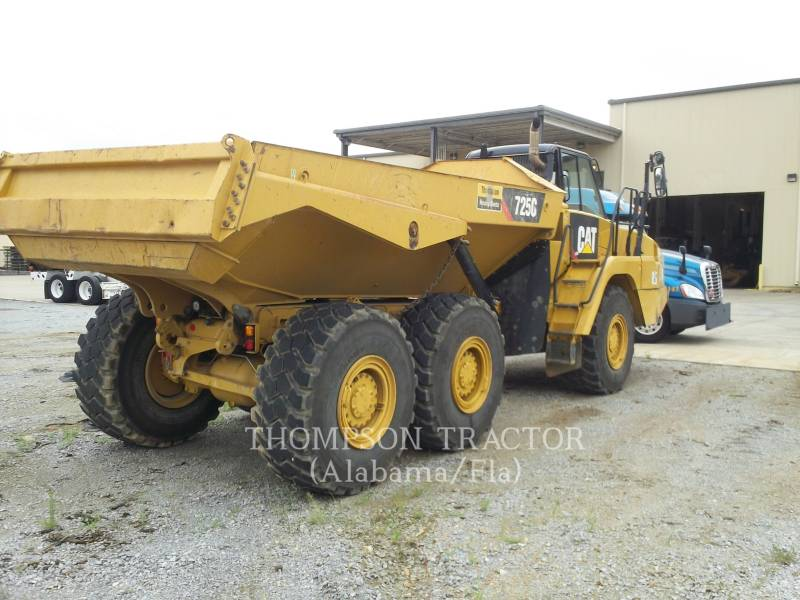 CATERPILLAR ARTICULATED TRUCKS 725C T4F equipment  photo 4