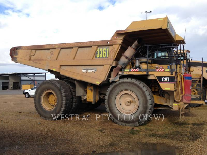 CATERPILLAR STARRE DUMPTRUCKS 775E equipment  photo 1