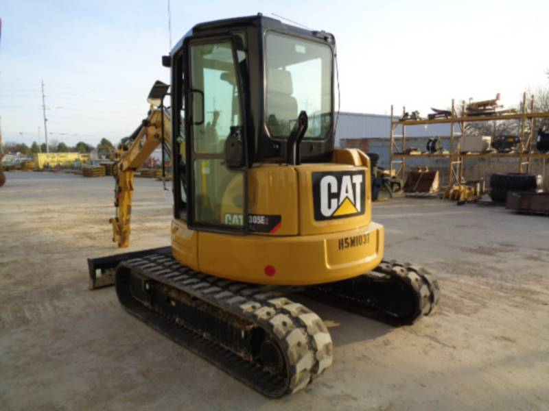 CATERPILLAR EXCAVADORAS DE CADENAS 305 equipment  photo 3
