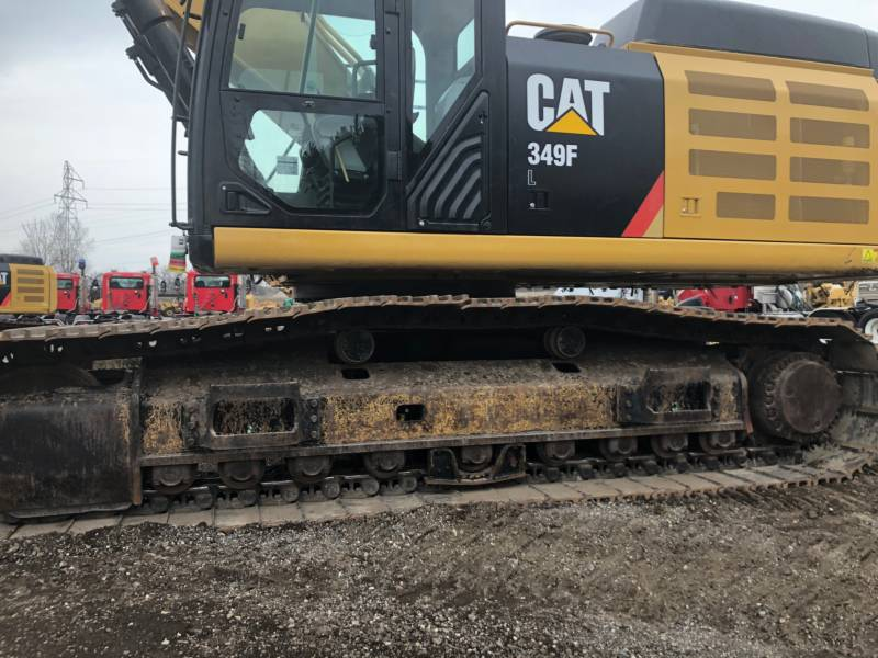 CATERPILLAR ESCAVATORI CINGOLATI 349FL equipment  photo 11