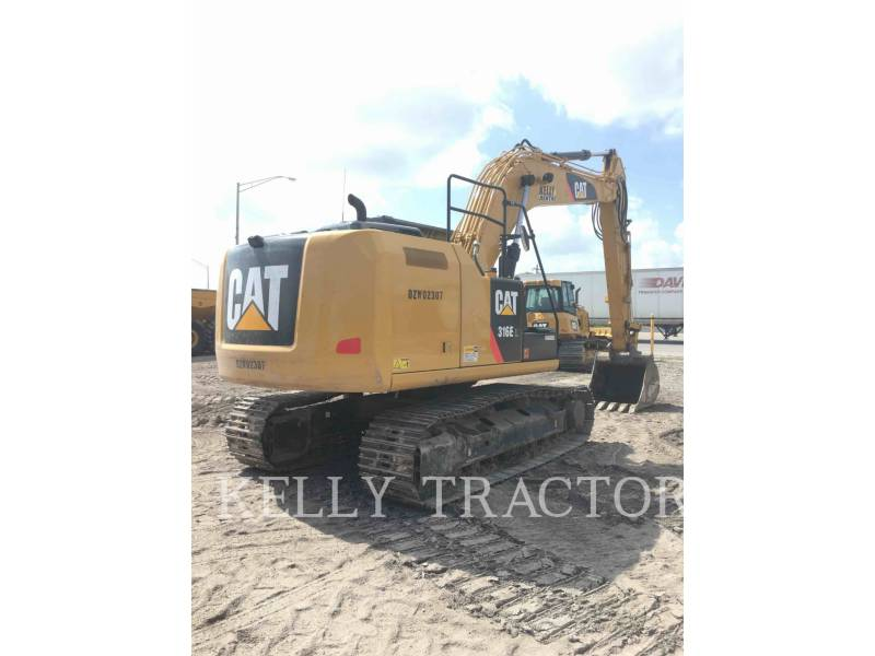 CATERPILLAR KETTEN-HYDRAULIKBAGGER 316EL equipment  photo 8