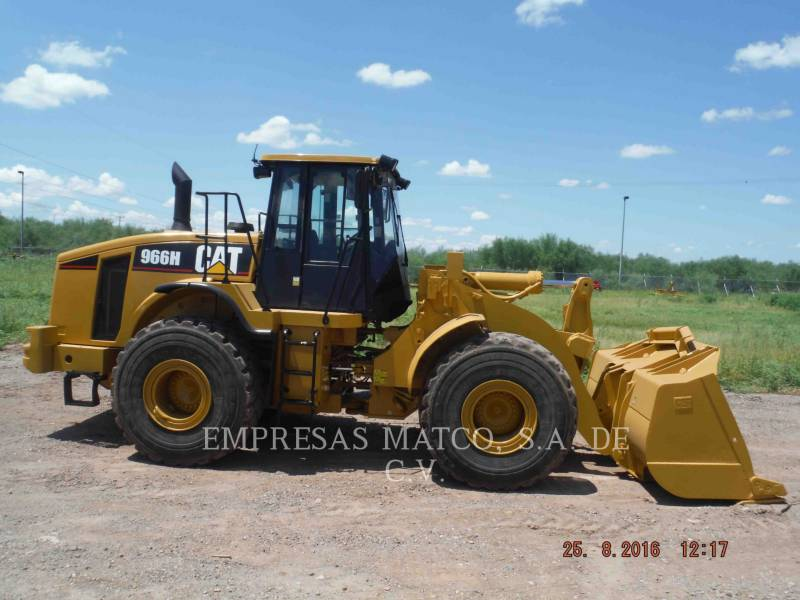 CATERPILLAR CHARGEURS SUR PNEUS MINES 966H equipment  photo 4