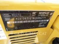 CATERPILLAR TRACK EXCAVATORS 303.5E2 CB equipment  photo 8