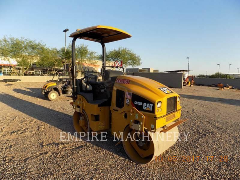 CATERPILLAR COMPACTEURS TANDEMS VIBRANTS CB22B equipment  photo 1