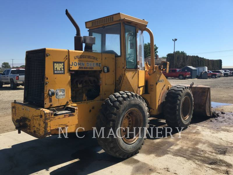 JOHN DEERE CARGADORES DE RUEDAS 544D equipment  photo 1
