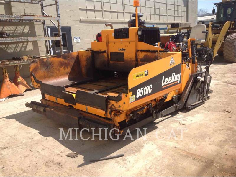 LEE-BOY PAVIMENTADORA DE ASFALTO 8510 equipment  photo 2