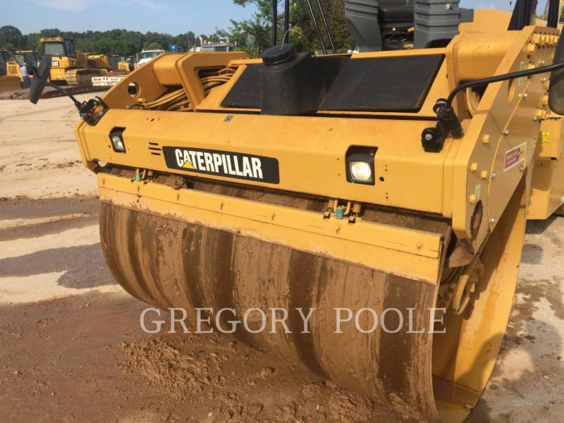 CATERPILLAR VIBRATORY DOUBLE DRUM ASPHALT CB-54 equipment  photo 9