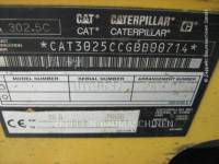 CATERPILLAR TRACK EXCAVATORS 302.5C equipment  photo 6