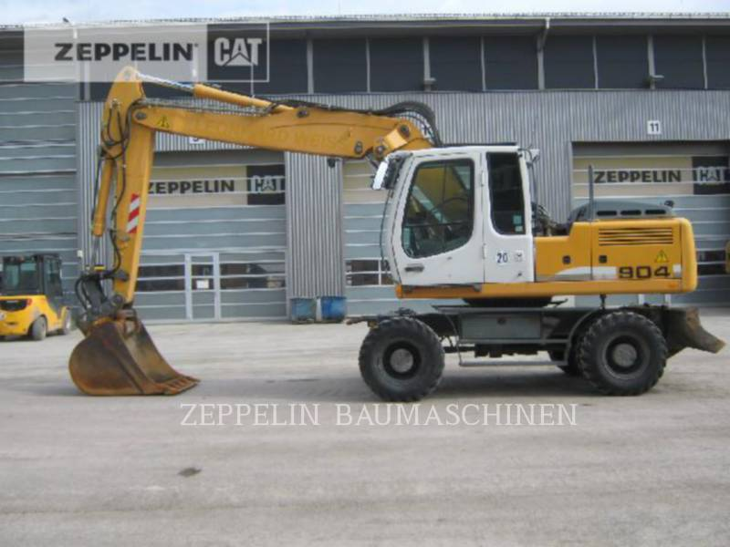 LIEBHERR WHEEL EXCAVATORS A904CLIT equipment  photo 2