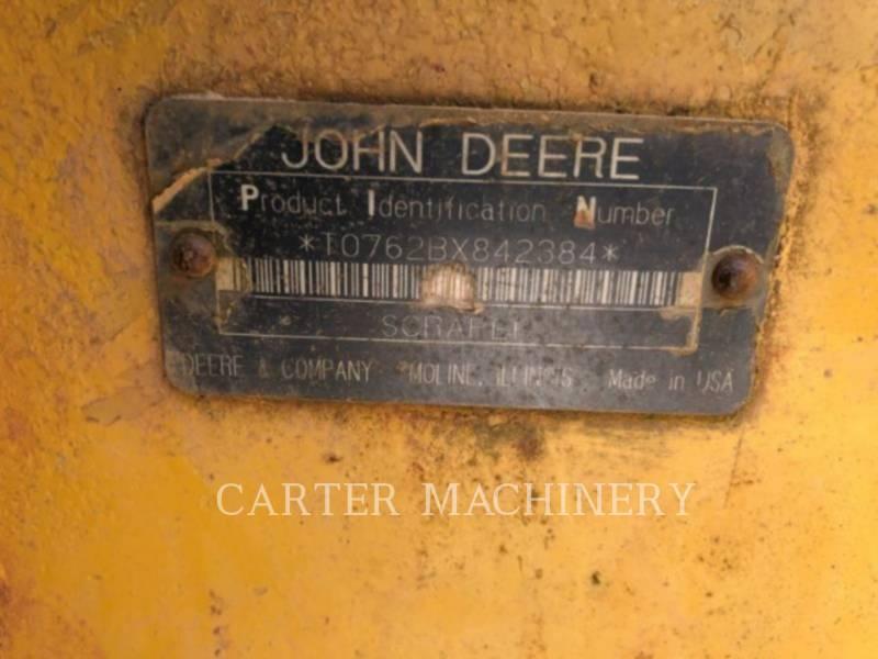 DEERE & CO. WHEEL TRACTOR SCRAPERS DER 762B equipment  photo 7