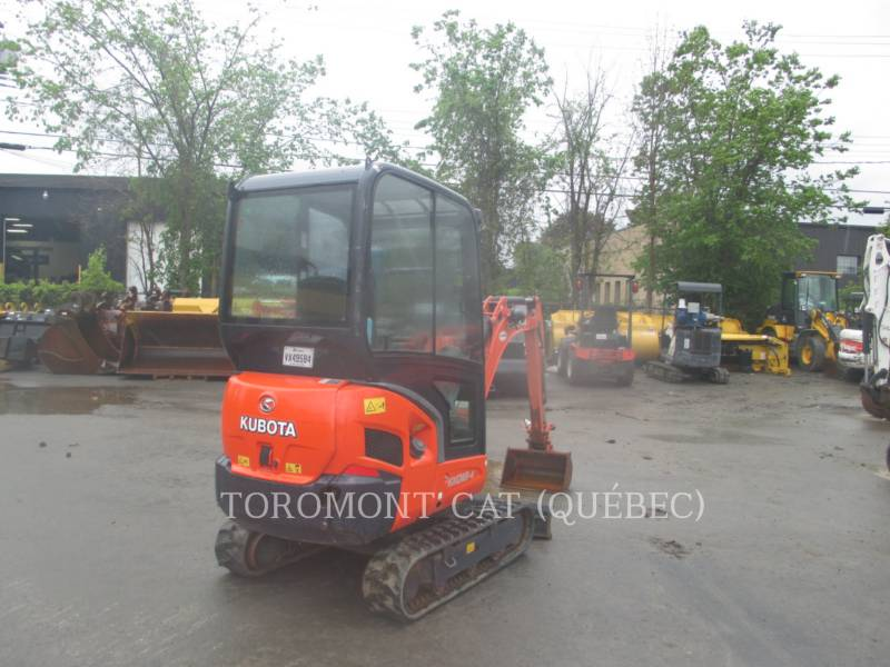 KUBOTA CANADA LTD. TRACK EXCAVATORS KX018 equipment  photo 3