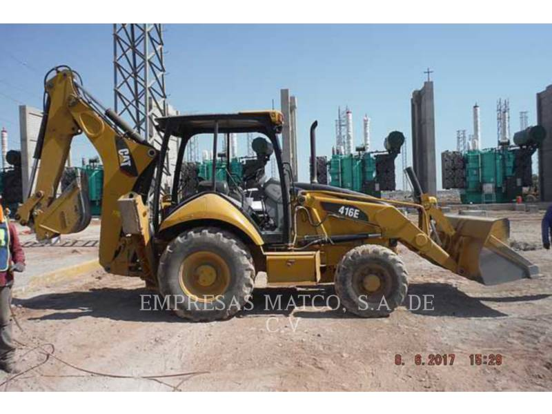CATERPILLAR TERNE 416EST equipment  photo 1