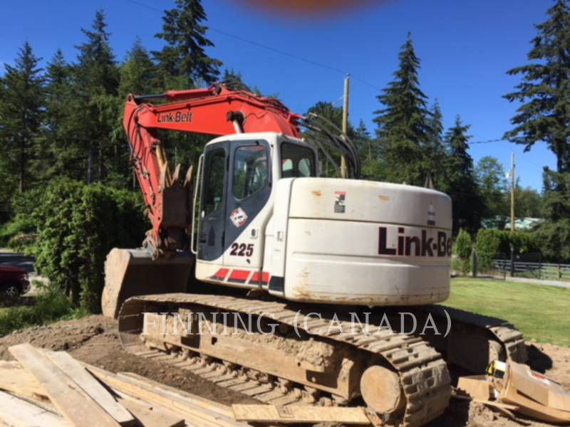 LINK-BELT CONSTRUCTION TRACK EXCAVATORS 225 equipment  photo 3