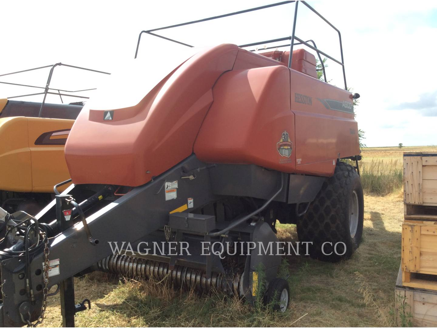 Detail photo of 2008 Hesston 7444 from Construction Equipment Guide