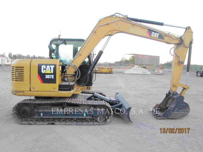 CATERPILLAR KETTEN-HYDRAULIKBAGGER 307E equipment  photo 1