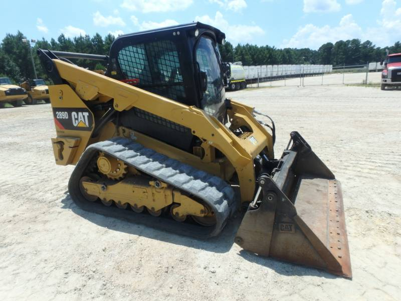 CATERPILLAR UNIWERSALNE ŁADOWARKI 289D equipment  photo 1