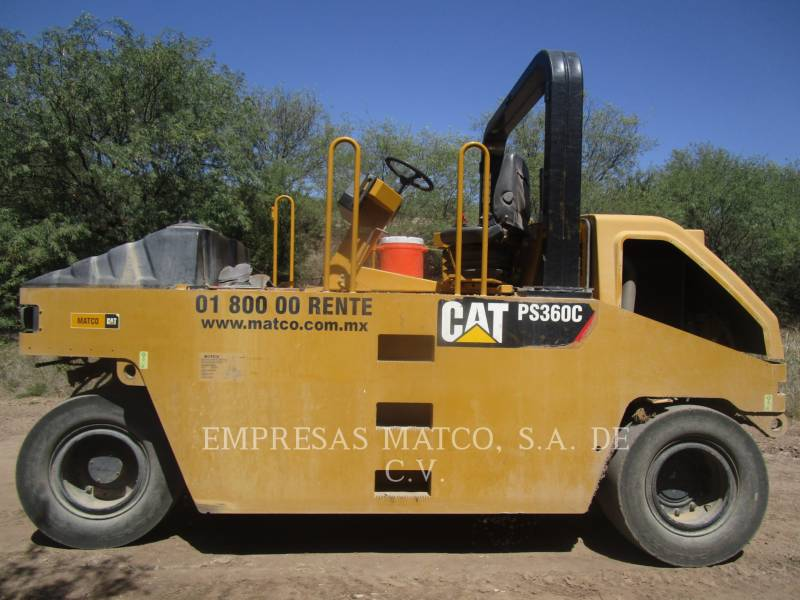 CATERPILLAR PNEUMATIC TIRED COMPACTORS PS-360C equipment  photo 1
