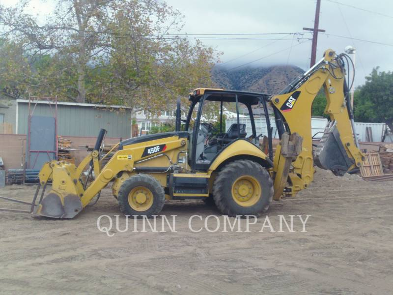 CATERPILLAR BACKHOE LOADERS 450F equipment  photo 6
