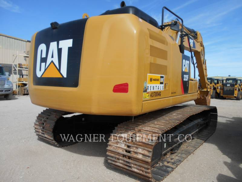 CATERPILLAR KETTEN-HYDRAULIKBAGGER 323FL TC equipment  photo 4