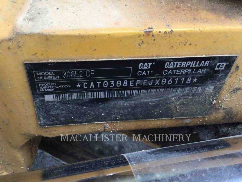 CATERPILLAR PELLES SUR CHAINES 308E2CRSB equipment  photo 6