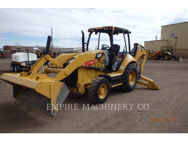 CATERPILLAR BAGGERLADER 420F 4EO equipment  photo 4