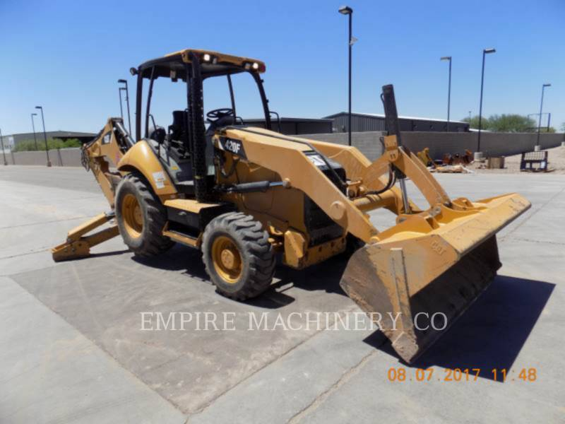 CATERPILLAR BACKHOE LOADERS 420F 4EO equipment  photo 1