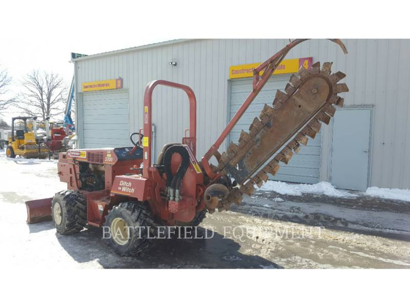 DITCH WITCH (CHARLES MACHINE WORKS) ZANJADORAS 3700 equipment  photo 8