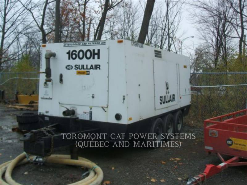 SULLAIR LUFTKOMPRESSOR 1600HAF equipment  photo 1