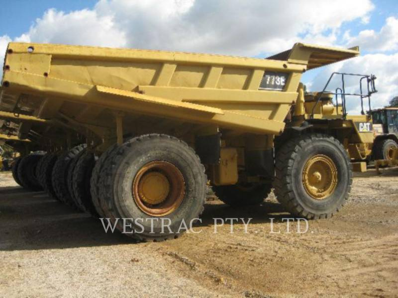 CATERPILLAR TOMBEREAUX RIGIDES POUR MINES 773E equipment  photo 1