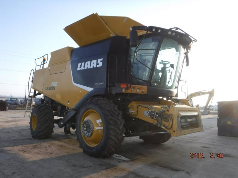 LEXION COMBINE COMBINES 750 equipment  photo 2
