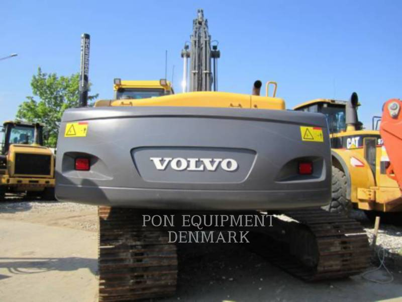 VOLVO CONSTRUCTION EQUIPMENT EXCAVADORAS DE CADENAS EC240CLR equipment  photo 3