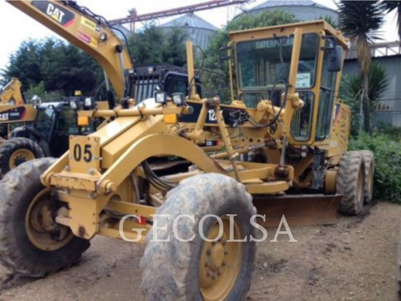 CATERPILLAR INC CIMA MOTORGRADER 120K equipment  photo 1