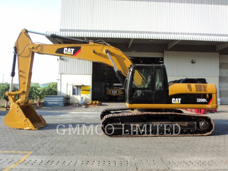 CATERPILLAR TRACK EXCAVATORS 329D equipment  photo 10