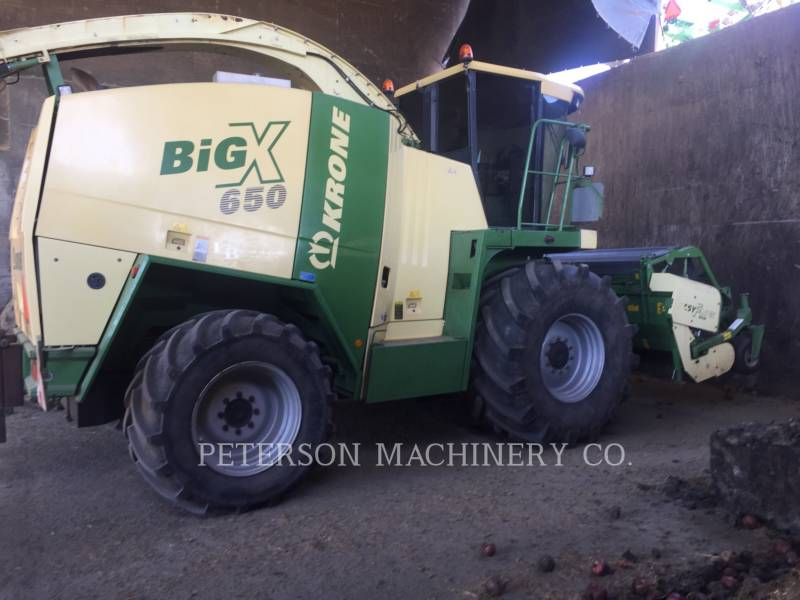 KRONE AG OTHER BIGX 650 equipment  photo 1