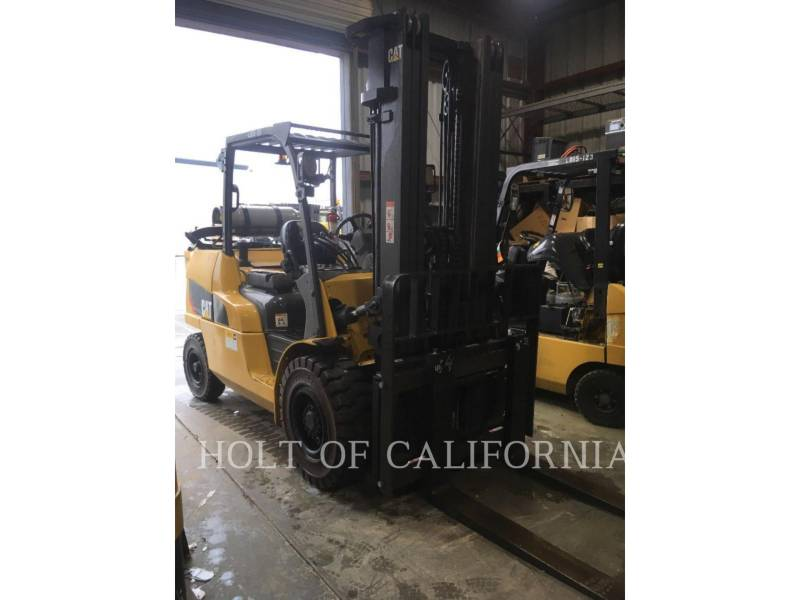 CATERPILLAR MITSUBISHI MONTACARGAS P12000-LE equipment  photo 1