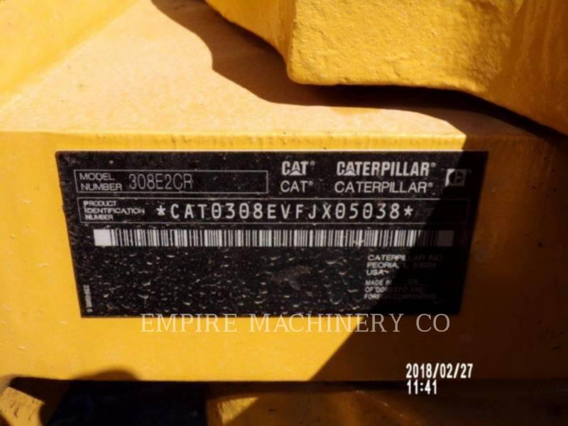 CATERPILLAR トラック油圧ショベル 308E SB equipment  photo 2