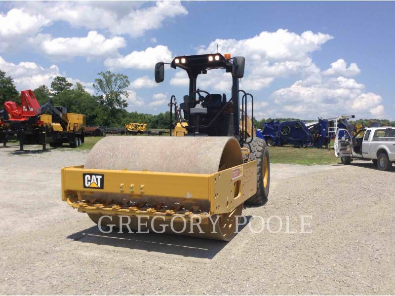 CATERPILLAR VIBRATORY SINGLE DRUM SMOOTH CS-56B equipment  photo 1