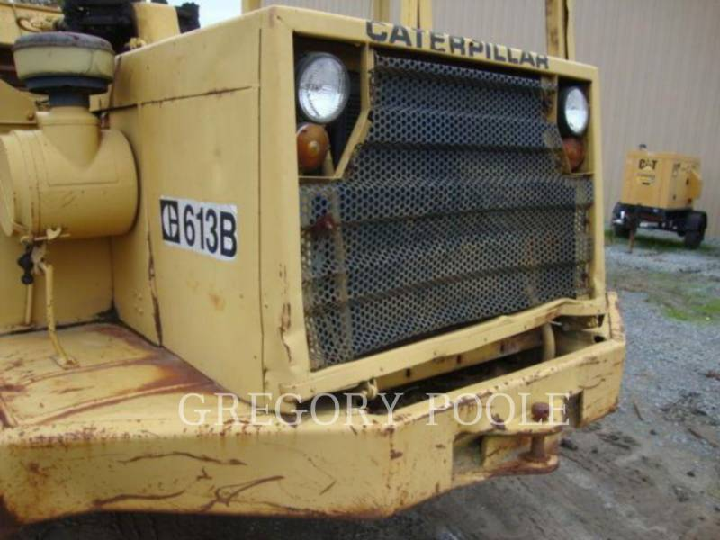 CATERPILLAR WHEEL TRACTOR SCRAPERS 613B equipment  photo 11