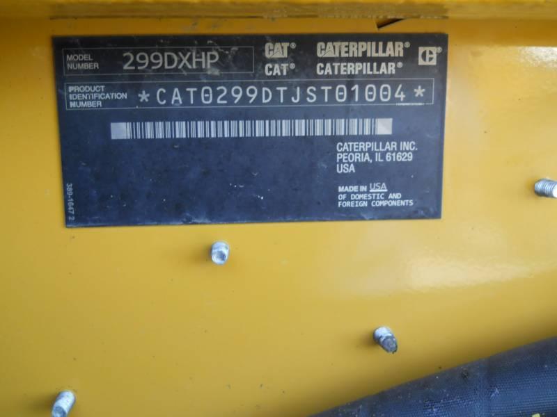 CATERPILLAR CARGADORES MULTITERRENO 299 D XHP equipment  photo 24