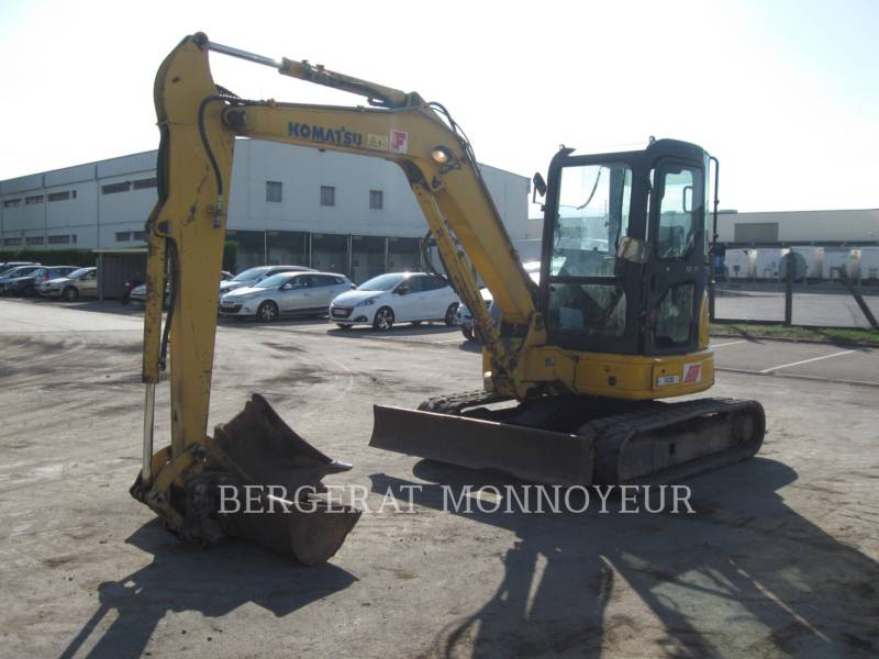KOMATSU TRACK EXCAVATORS PC50MR.2 equipment  photo 3