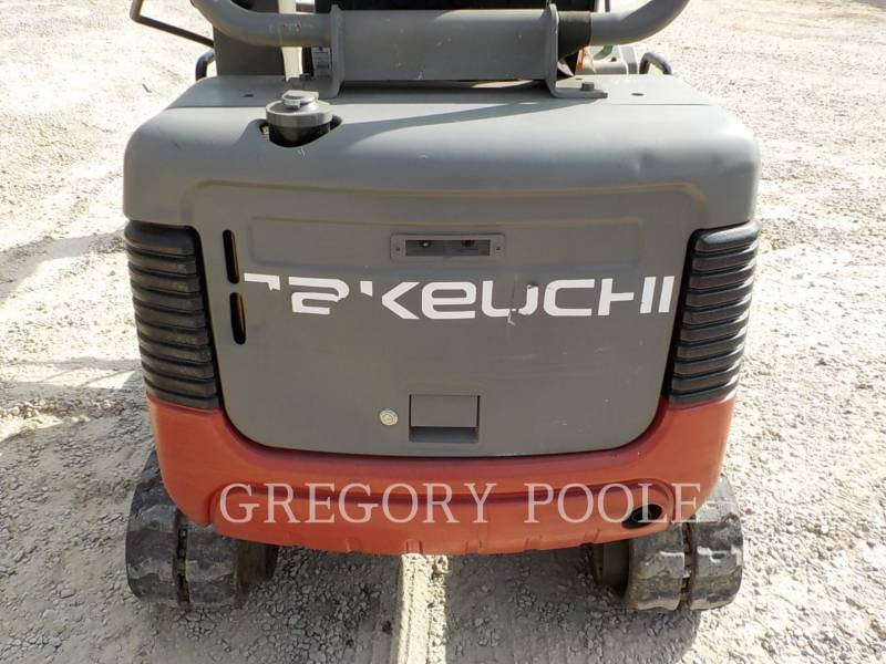 TAKEUCHI MFG. CO. LTD. TRACK EXCAVATORS TB016 equipment  photo 12
