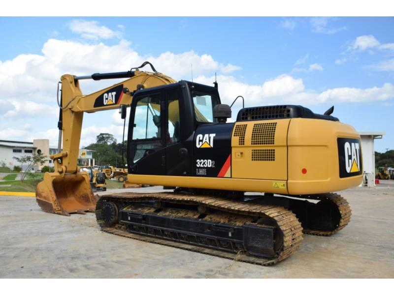 CATERPILLAR TRACK EXCAVATORS 323D2 equipment  photo 2