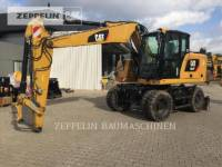 CATERPILLAR PELLES SUR PNEUS M314F equipment  photo 1